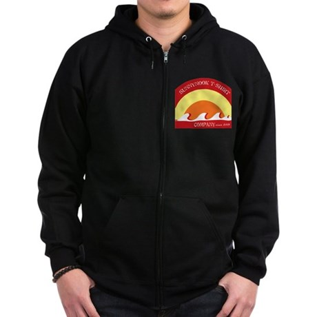 Rays Zip Hoodie (dark)