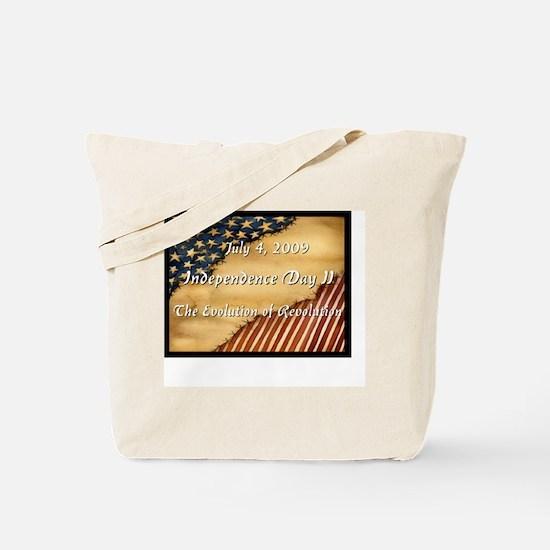 Evolution of Revolution Tote Bag