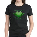 Transplant Recipient 2007 Women's Dark T-Shirt