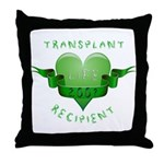 Transplant Recipient 2007 Throw Pillow