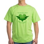 Transplant Recipient 2007 Green T-Shirt