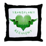 Transplant Recipient 2005 Throw Pillow