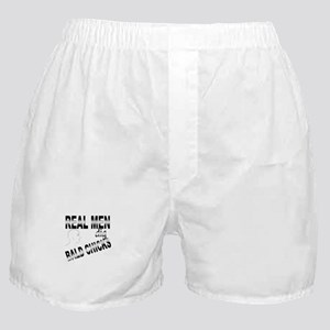 Real Men Dig Bald Chicks Boxer Shorts