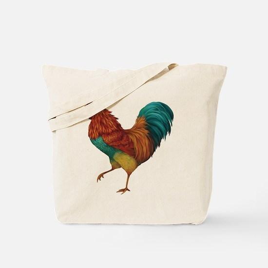 Cute Rooster Tote Bag