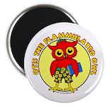 Otis the Flammulated Owl Magnet