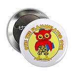 "Otis the Flammulated Owl 2.25"" Button"
