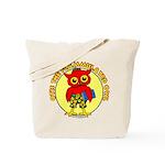 Otis the Flammulated Owl Tote Bag