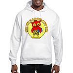 Otis the Flammulated Owl Hooded Sweatshirt