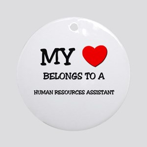 My Heart Belongs To A HUMAN RESOURCES ASSISTANT Or