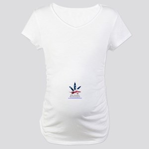 Maternity T-Shirt - Grow Freedom, Not Government