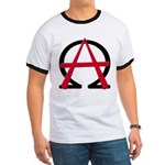 Christain Anarchy Ringer T