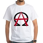 Christain Anarchy White T-Shirt