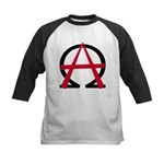 Christain Anarchy Kids Baseball Jersey