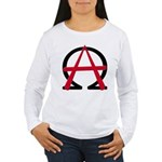 Christain Anarchy Women's Long Sleeve T-Shirt
