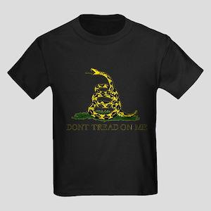 Dont Tread On Me Kids Dark T-Shirt