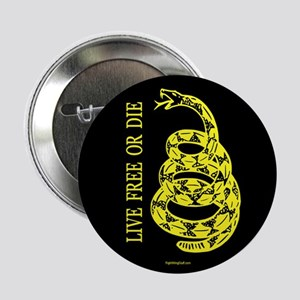 """Live Free or Die 2.25"""" Button (10 pack)"""