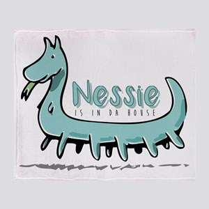 Nessie is in da house Throw Blanket