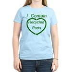 I Contain Recycled Parts Women's Light T-Shirt