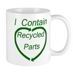 I Contain Recycled Parts Mug