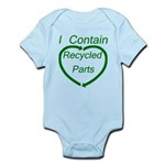 I Contain Recycled Parts Infant Bodysuit