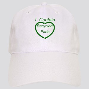 I Contain Recycled Parts Cap