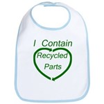 I Contain Recycled Parts Bib