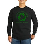 Recycled Parts Inside Long Sleeve Dark T-Shirt