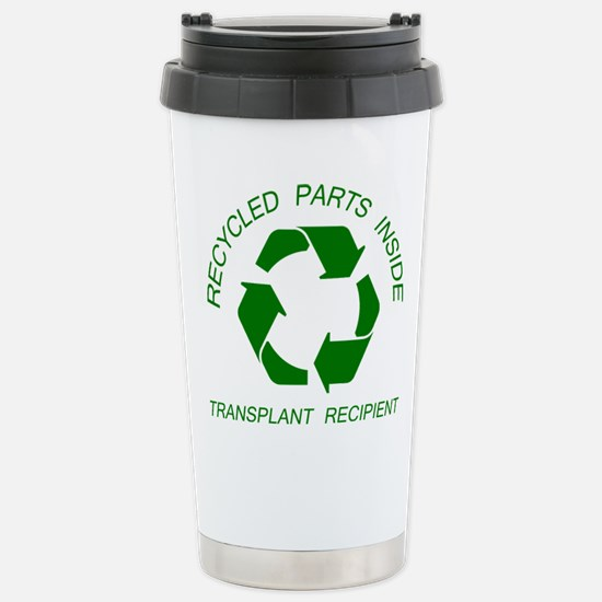 Recycled Parts Inside Stainless Steel Travel Mug