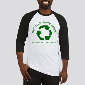Recycled Parts Inside Baseball Jersey