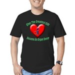 Greatest Gift Men's Fitted T-Shirt (dark)