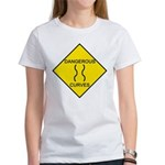 Dangerous Curves Sign Women's T-Shirt