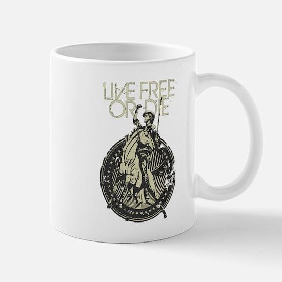 Minuteman! Live Free or Die!! Mug