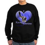 I Love Racing Siberians Sweatshirt (dark)