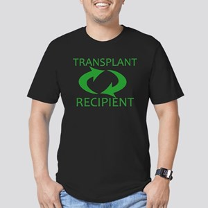 Transplant Recipient Men's Fitted T-Shirt (dark)
