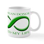 Saved By A Donor Mug