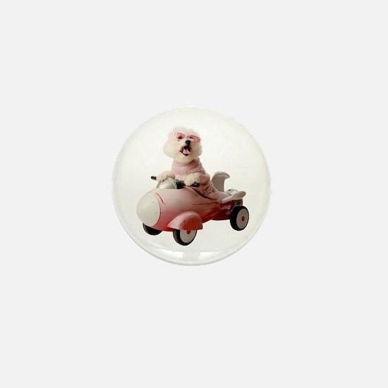 Fifi the Bichon Frise Mini Button