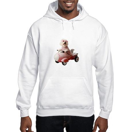 Fifi the Bichon Frise Hooded Sweatshirt
