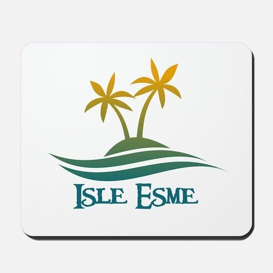 Isle Esme Mousepad