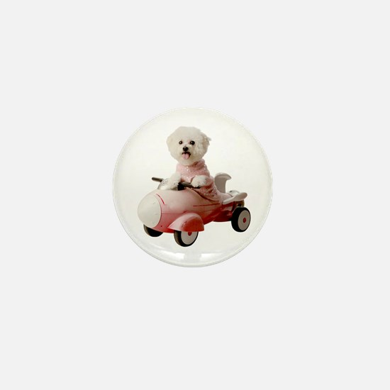 Unique Rocket dog Mini Button