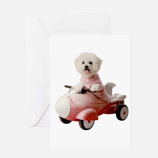 Funny Small car Greeting Card