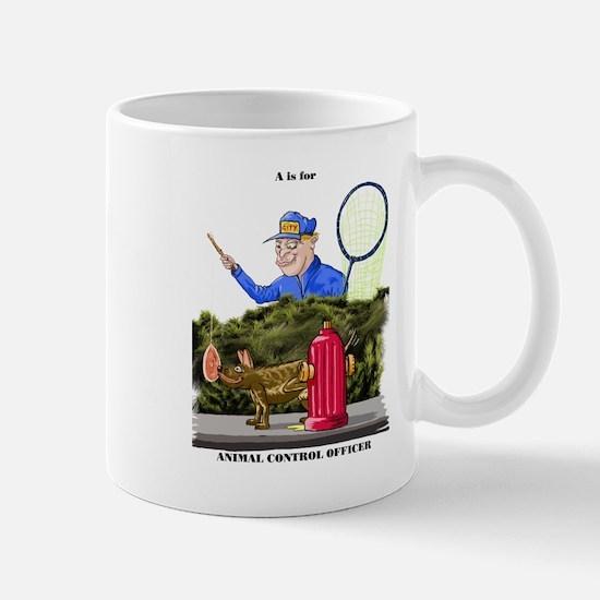 funny dog catcher gift produc Mug