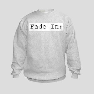 Fade In: Kids Sweatshirt
