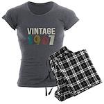 vintage 1967 Women's Charcoal Pajamas