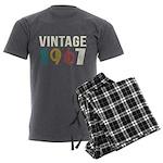 vintage 1967 Men's Charcoal Pajamas