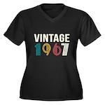 vintage 1967 Plus Size T-Shirt