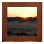 Sunrise 0055 Framed Tile