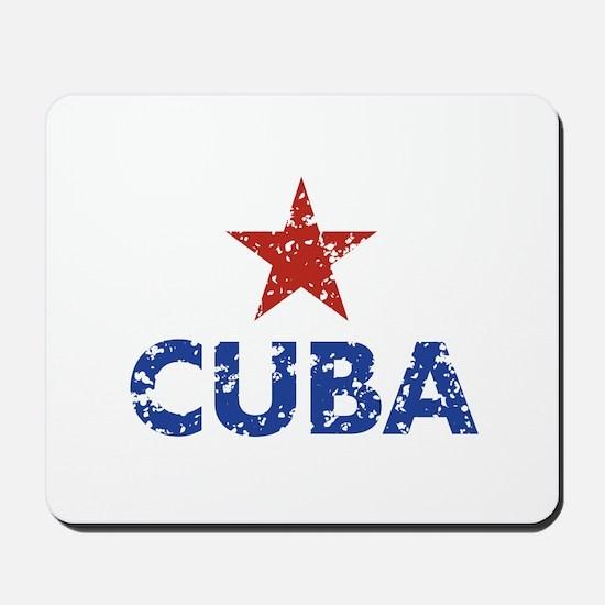 Cuba Mousepad