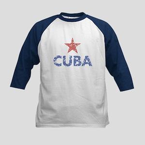 Cuba Kids Baseball Jersey