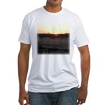 Sunrise 0055 Fitted T-Shirt