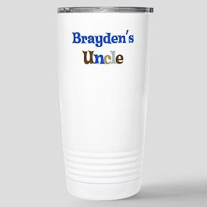 Brayden's Uncle Stainless Steel Travel Mug